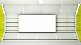 Corridoio futuristico Immagine Stock Libera da Diritti