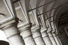 Corridoio incurvato Fotografia Stock Libera da Diritti