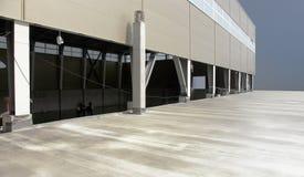 Corridoio industriale Fotografia Stock