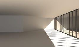Corridoio interno Immagine Stock Libera da Diritti