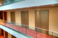 Corridoio interno dell'hotel Immagine Stock Libera da Diritti