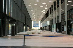 Corridoio interno ExpoForum Immagine Stock