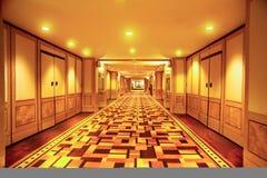 corridoio lungamente Fotografie Stock Libere da Diritti