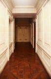 Corridoio lungo Immagini Stock