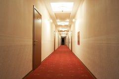 Corridoio lungo Immagine Stock