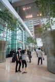 Corridoio Marina Bay Sands dell'hotel Immagini Stock Libere da Diritti