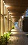 Corridoio moderno della struttura Immagine Stock Libera da Diritti