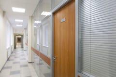 Corridoio nel centro di affari Immagini Stock