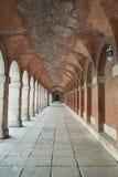 Corridoio nel palazzo reale Fotografia Stock Libera da Diritti