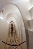 Corridoio nell'interno della casa Batllo Immagine Stock
