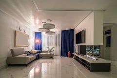 Corridoio nello stile moderno Fotografia Stock