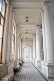 Corridoio nello stile neoclassico immagini stock libere da diritti