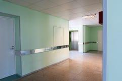 Corridoio in ospedale Fotografie Stock