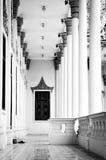Corridoio in palazzo reale Fotografia Stock Libera da Diritti