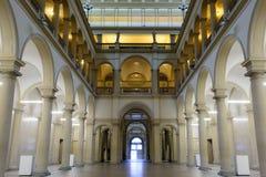 Corridoio principale dell'università di Zurigo, ETH Fotografie Stock
