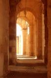Corridoio romano antico Immagini Stock
