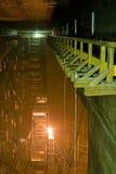 Corridoio sopra la miniera Immagini Stock Libere da Diritti
