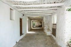 Corridoio stretto profondo a Capileira Immagine Stock