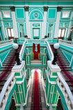 Corridoio superiore in palazzo russo Immagini Stock