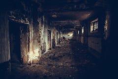 Corridoio triste Immagine Stock
