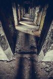Corridoio triste Fotografie Stock Libere da Diritti