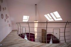 Corridoio vuoto in residenza di lusso Fotografie Stock