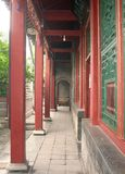 Corridor. The corridor of Chinese ancient house Royalty Free Stock Photography