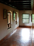 Corridor. A corridor of a traditional Indian house, typical of houses in Chennai, India Stock Photography