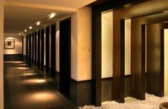 Corridor. Chinese-style corridor of a villa Stock Photography