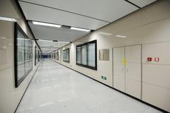 Corridor. In the subway statio Royalty Free Stock Image