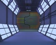Corridor vector illustration
