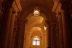 The corridor. Of palace, museum, St. Petersburg Stock Photography