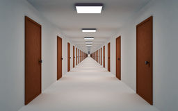 Corridor Royalty Free Stock Photography