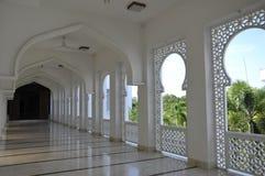 Corridor of Al-Bukhari Mosque in Kedah Royalty Free Stock Images
