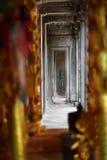Corridor at Angkor Wat, Cambodia Royalty Free Stock Photography
