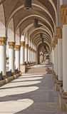 Corridor of arches abstract architecture Stock Photography