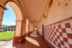 Corridor and Arches Royalty Free Stock Image