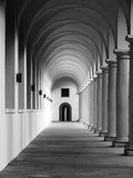 Corridor archway perspective Royalty Free Stock Image