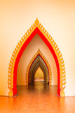 Corridor of art Stock Image