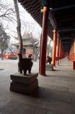 Corridor of Beijing Dongyue Tao  Temple Stock Image