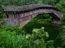 The corridor bridge Royalty Free Stock Image