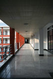 Corridor in building Stock Image