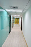 Corridor in business architecture Stock Photos