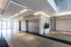 Corridor in business centre Royalty Free Stock Photos