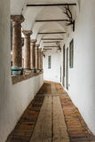 Corridor of Castle Orth in Austria Royalty Free Stock Image
