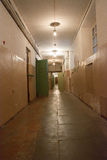 Corridor cells prisons Stock Image