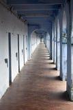 Corridor in Cellular Jail Stock Photo
