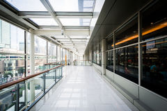 Corridor in the CentralWorld Mall, in Bangkok, Thailand. Royalty Free Stock Photos