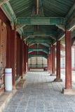 Corridor in Changgyeonggung palace Royalty Free Stock Image