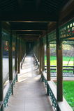 Corridor in Chengde Imperial Summer Resort Royalty Free Stock Image